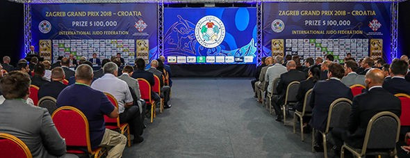 The draw took place today for the IJF Zagreb Grand Prix ©IJF