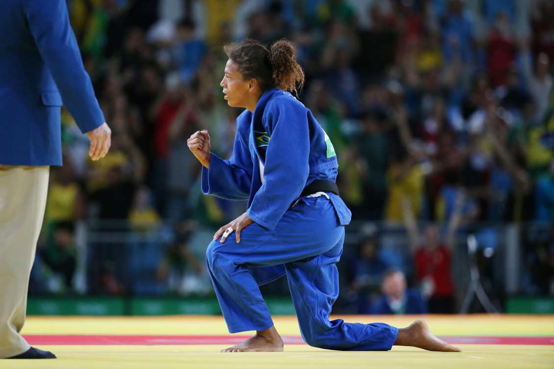Brazil's Rafaela Silva is among the Olympic champions set to compete at the Zagreb Grand Prix - the second qualifying competition for Tokyo 2020 ©Getty Images