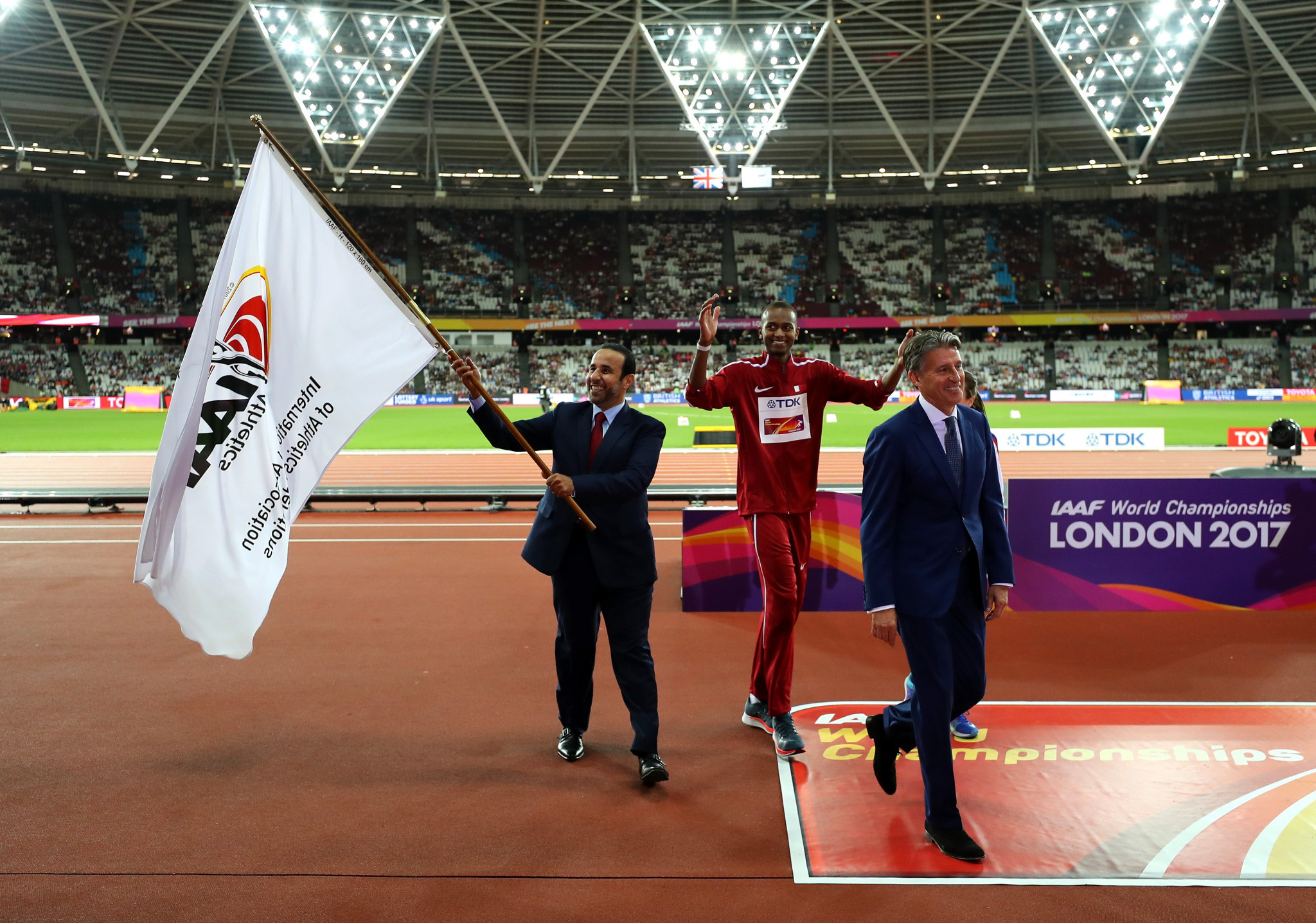 Qatar will host the next IAAF World Athletics Championships next year in Doha ©Getty Images