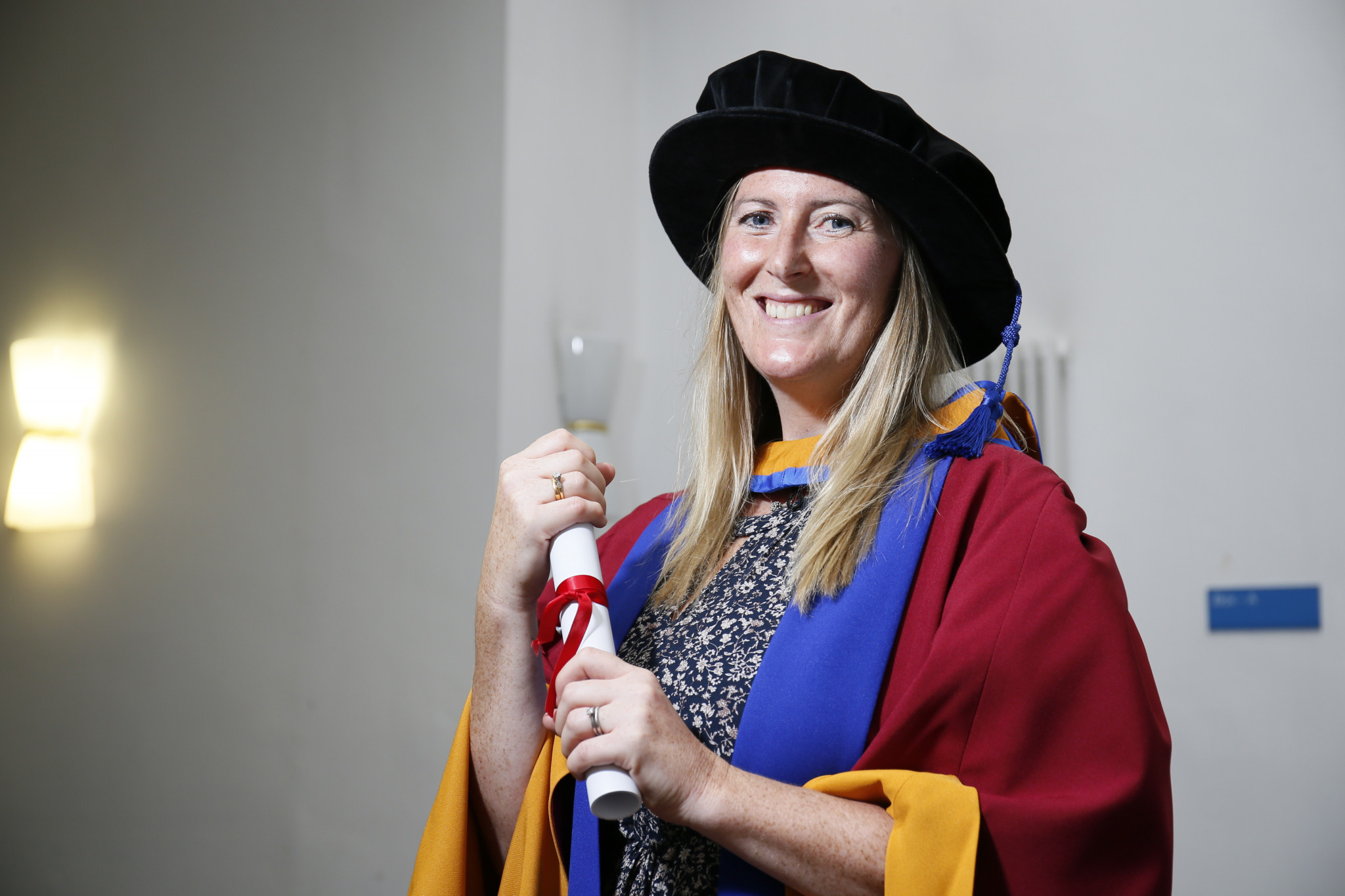 Victoria Aggar, who won two world rowing titles in 2006 and 2009, has been given an honorary degree by Leeds Becket University ©Leeds Beckett