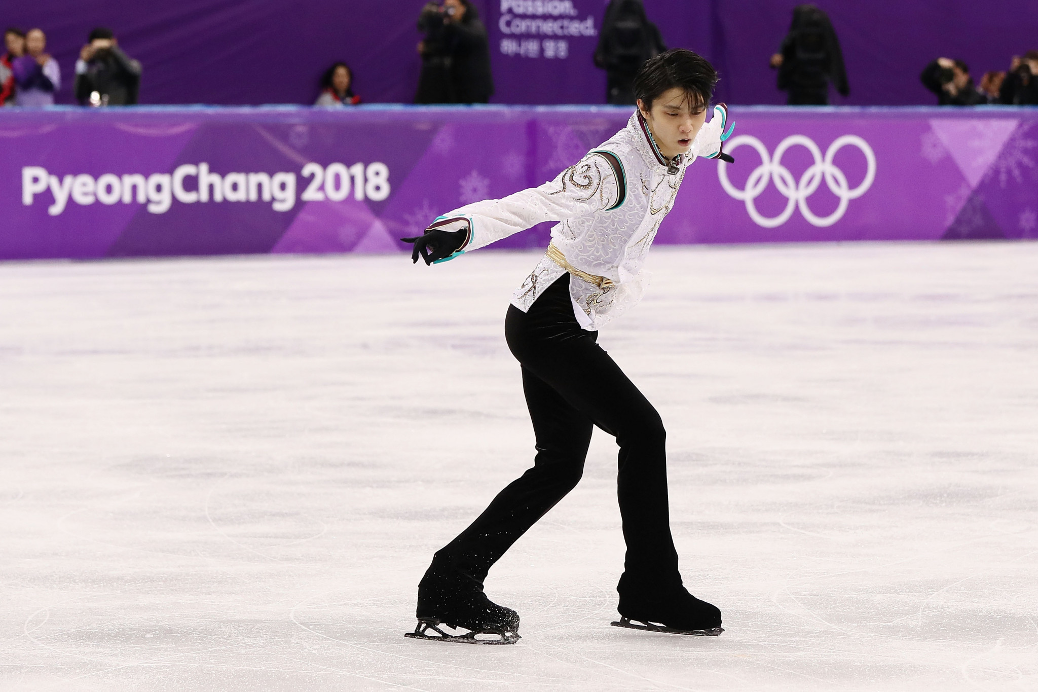 Yuzuru Hanyu retained his Olympic men's singles title at the Games in Pyeongchang last February ©Getty Images