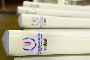 Four-hundred Torches will be created in time for the Relay, which will start in September ©Krasnoyarsk 2019