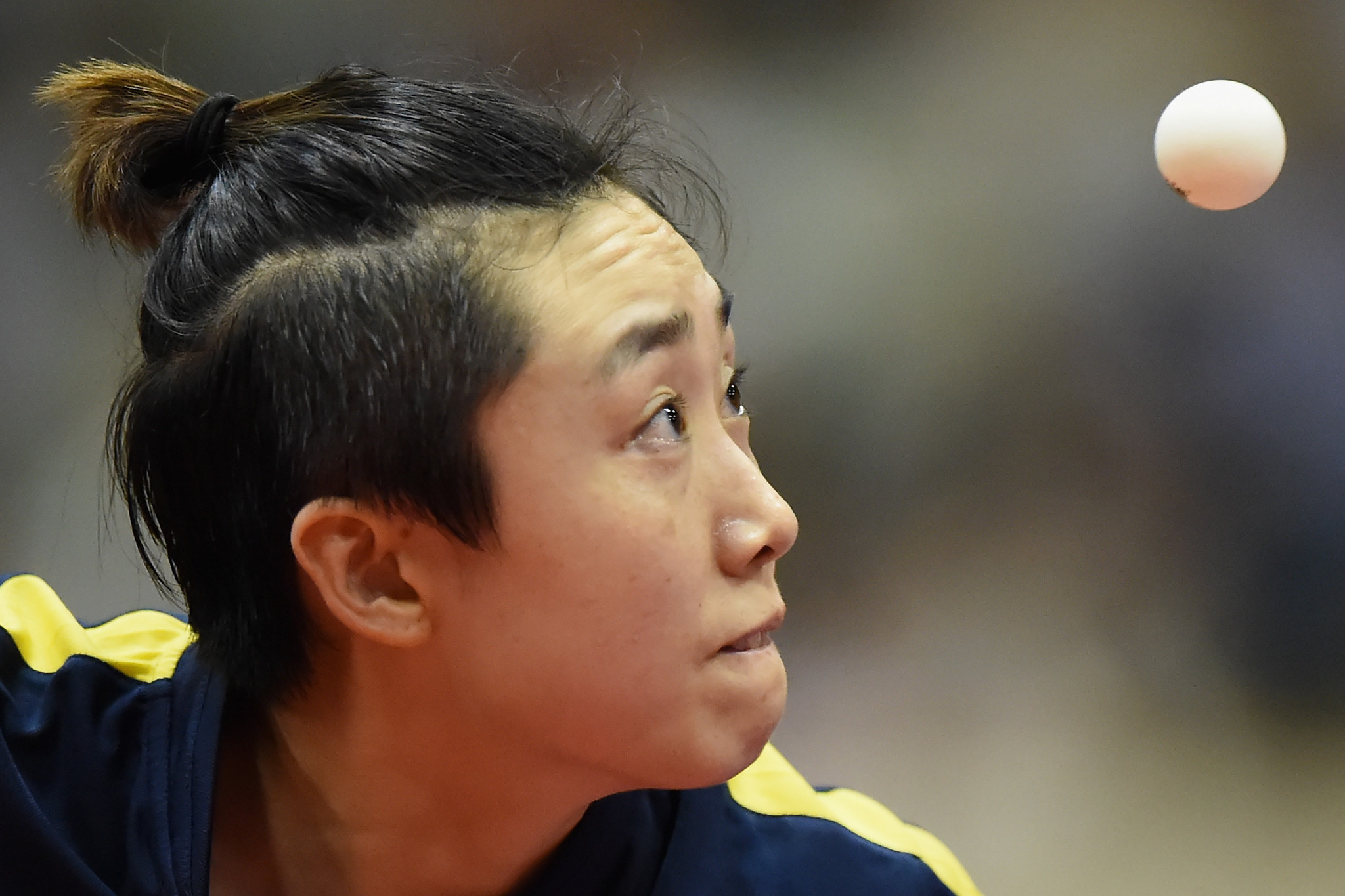 Singapore's Feng Tianwei, the sixth seed, was beaten in the women's singles draw ©Getty Images