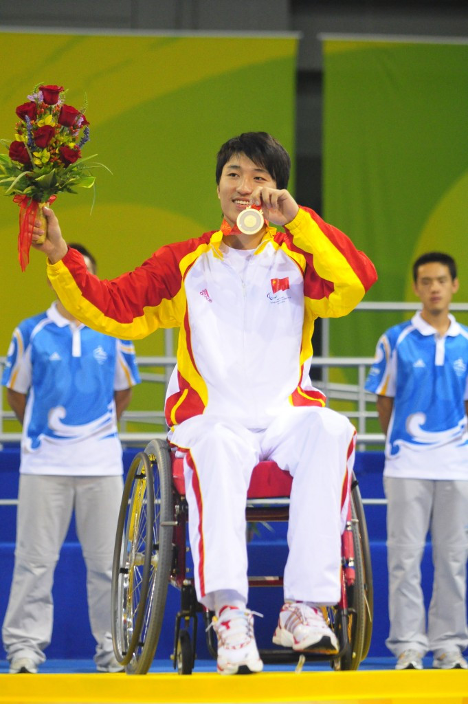 China scoop up three titles at Wheelchair Fencing World Championship