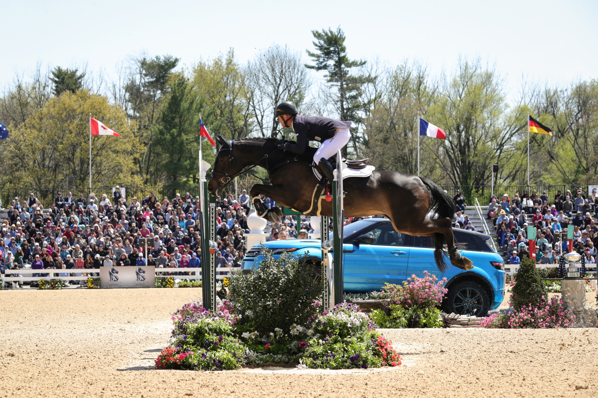 Olympic gold medallist Jung among entrants at Longines Global Champions Tour event in Berlin
