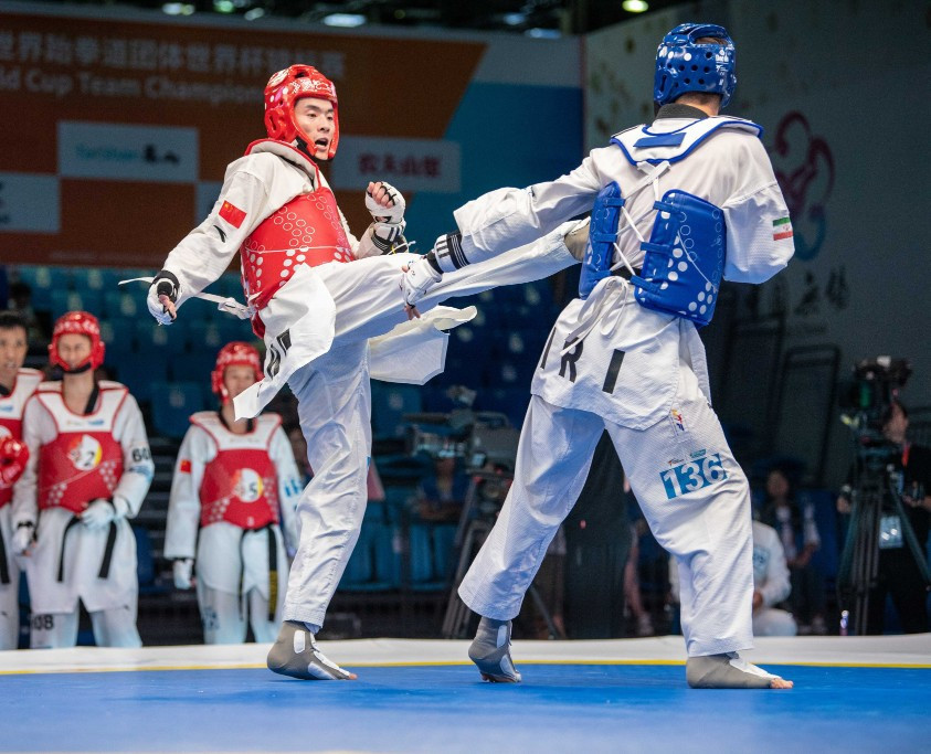 China and South Korea to meet in men's final at World Taekwondo World Cup Team Championships