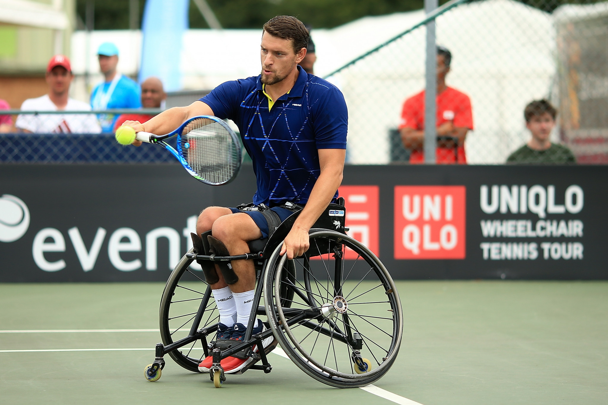 Home title dream still alive for Gerard at Belgian Open Wheelchair Tennis Championships