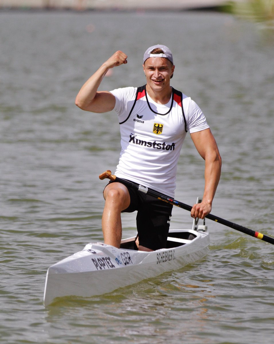 Germany and Hungary each won three golds on the first day of finals at the ICF Under-23 and Junior Canoe Sprint World Championships in Bulgaria ©Braca Sport/Twitter