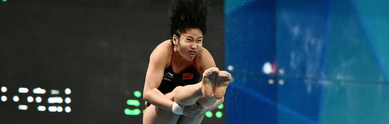 China now have nine gold medals after six days of the FINA World Junior Diving Championships in Kiev ©FINA
