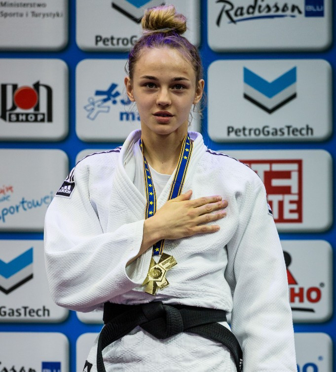 Seventeen-year-old Bilodid continues remarkable rise at IJF Zagreb Grand Prix