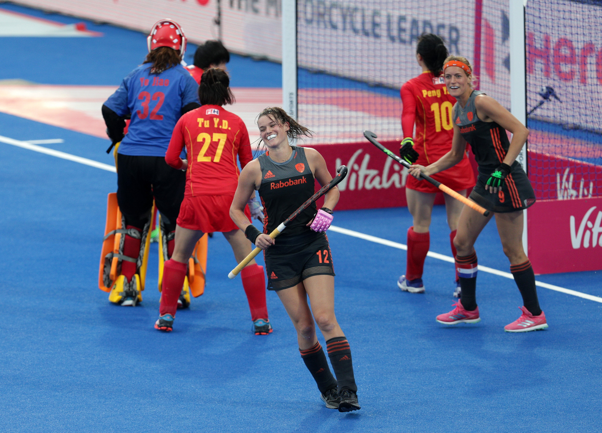 Defending champions Netherlands continue impressive start at Women's Hockey World Cup