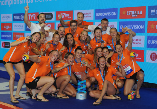 Netherlands match Italian record of five women's European Water Polo titles
