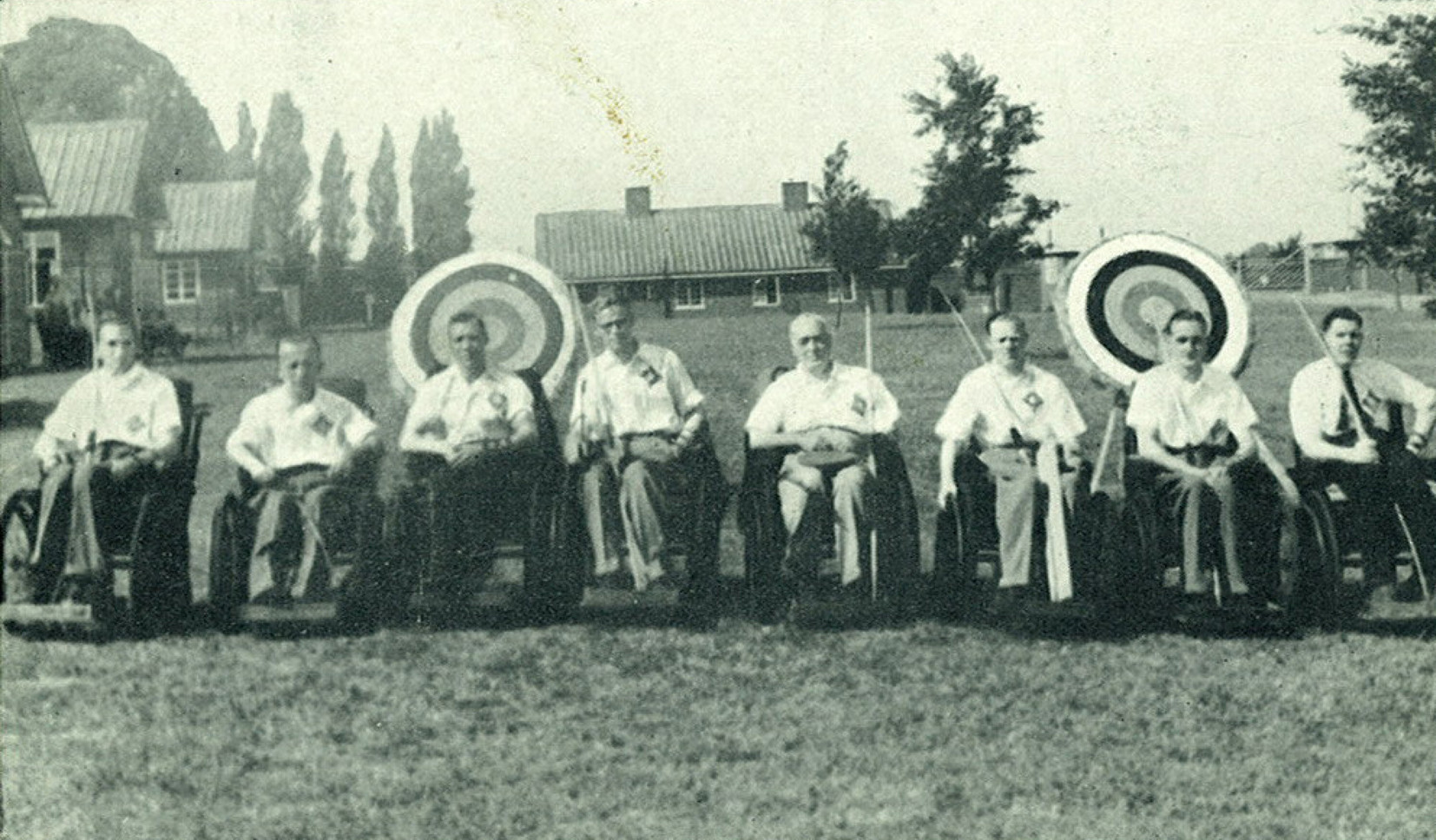 The first Stoke Mandeville Games - the forerunner for the Paralympics - took place at Stoke Mandeville in 1948 and featured 16 competitors recovering from spinal injuries ©WheelPower