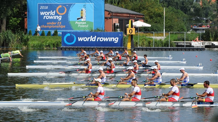 US win four golds at World Rowing Under-23 Championships, including two in new women's boat classes