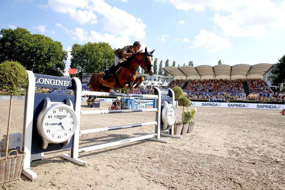Zorzi claims first Longines Global Champions Tour victory with Berlin triumph