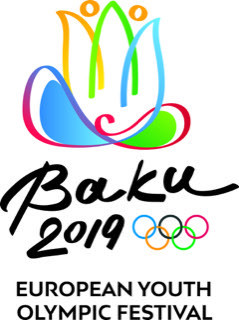 The official logo of the Baku 2019 European Youth Olympic Festival has been unveiled with one year to go until the event ©Baku 2019