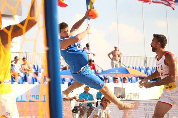 The Beach Handball World Championships are moving towards their conclusion in Kazan tomorrow ©IHF