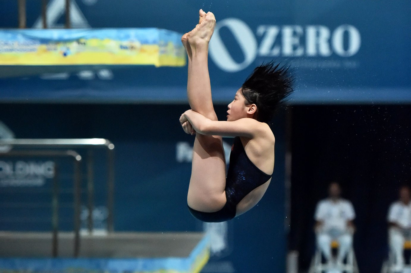 Lai Shiyun secured victory in the 3m springboard for China on the penultimate day of the FINA World Junior Diving Championships in Kiev taking her country's overall total of gold medals to 12 ©FINA