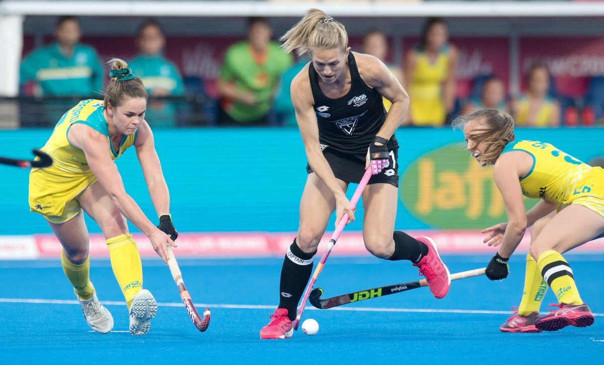 Image result for Australia vs New Zealand Women's hockey