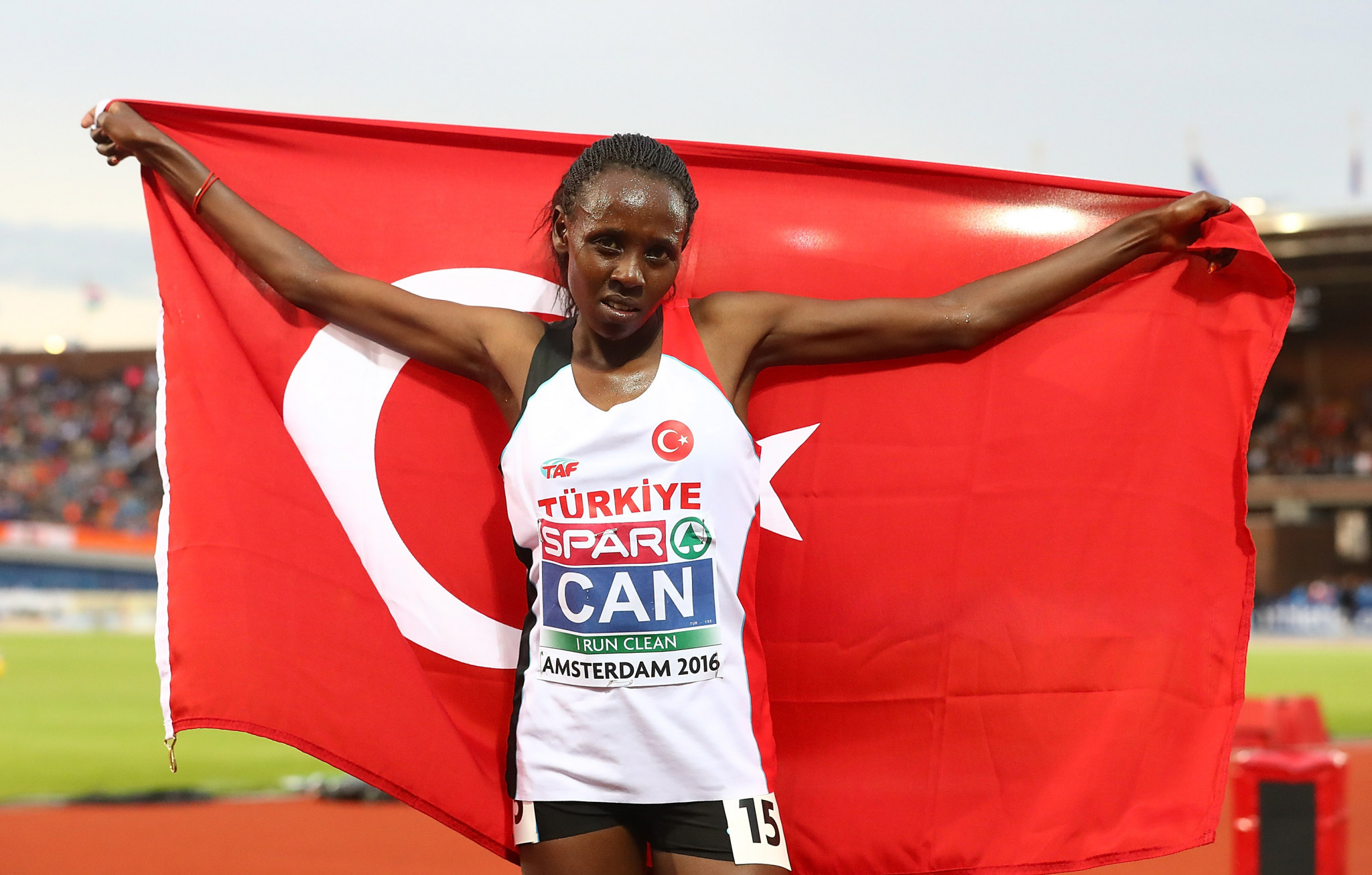 European 5,000m and 10,000m gold mdallist Yasemin Can competes for Turkey, although she continues to live and train in Kenya - the country she switched nationalities from ©Getty Images