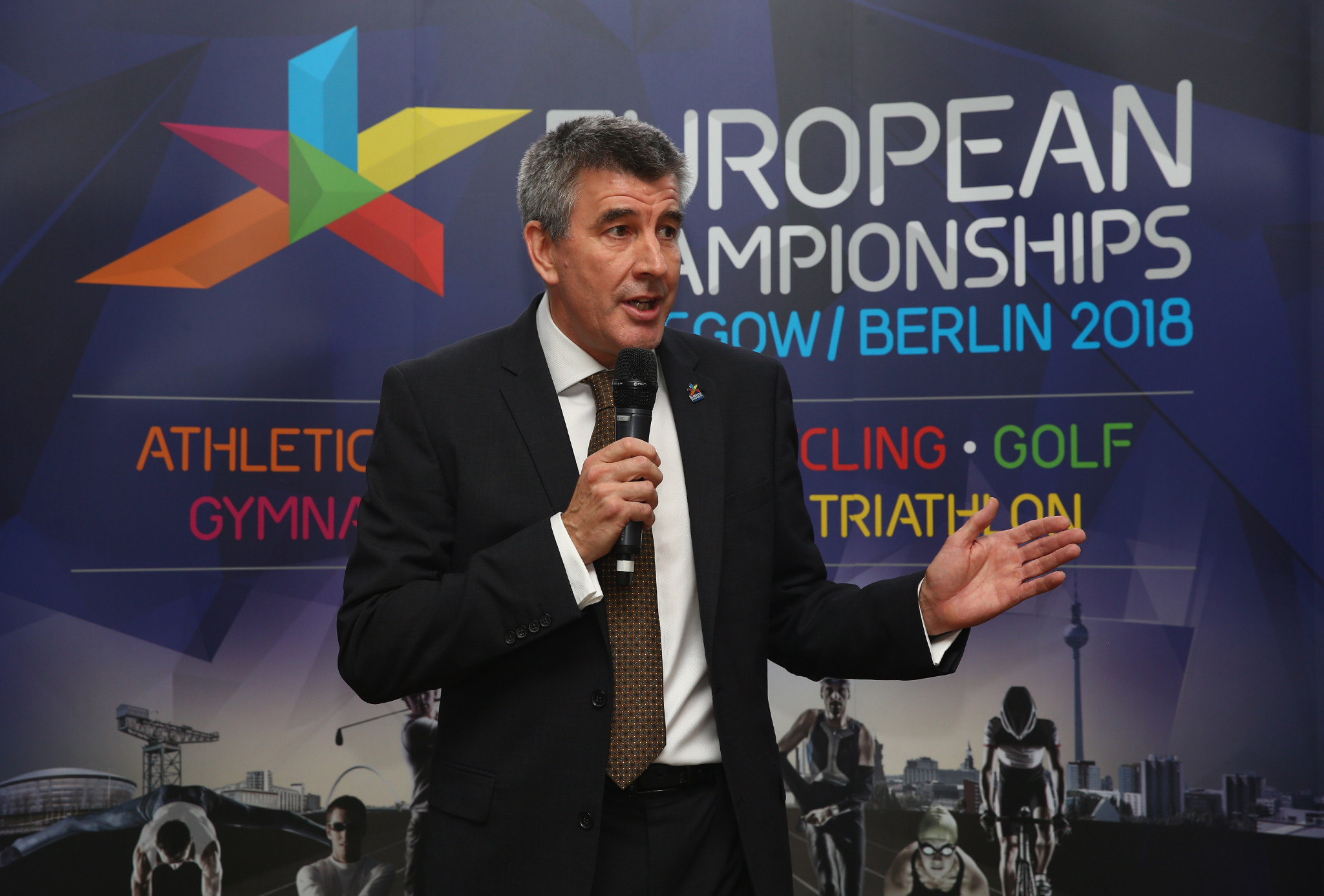 Paul Bristow, co-founder of the multi-sport European Championships, says: