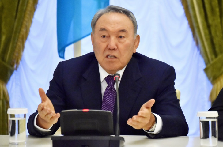 Nursultan Nazarbayev has been re-elected President of Kazakhstan for another five years ©AFP/Getty Images