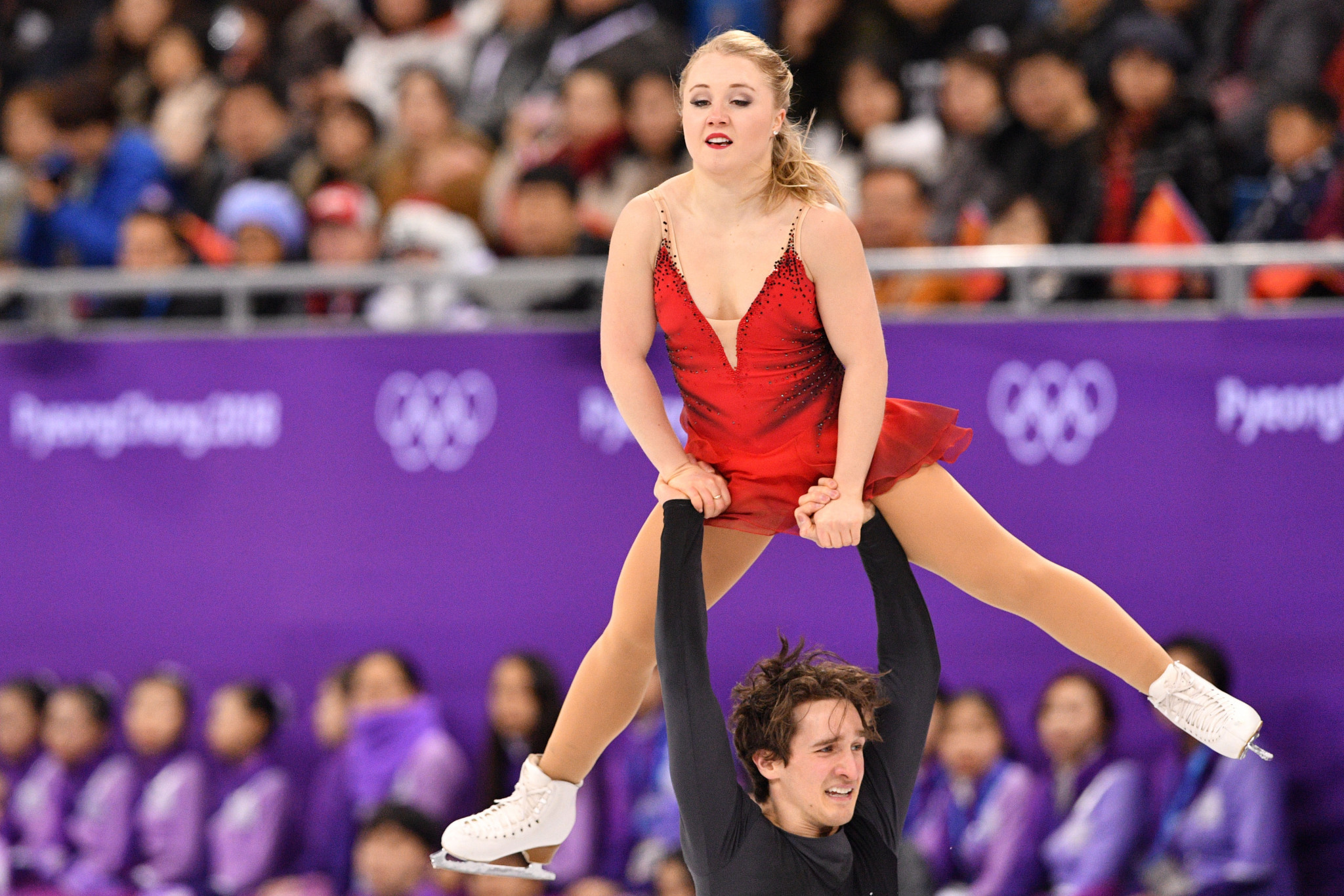 The duo were ninth at the Pyeongchang 2018 Olympic Games ©Getty Images