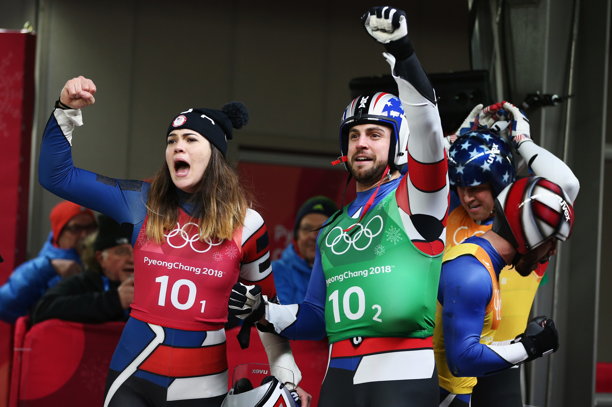 USA Luge raised funds for good causes away from the ice ©Getty Images