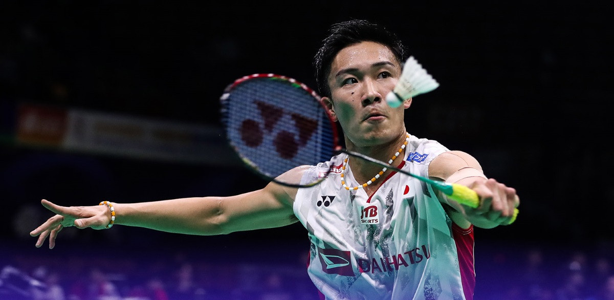 In-form Momota seeking to earn historic first men's singles gold for Japan at BWF World Championships