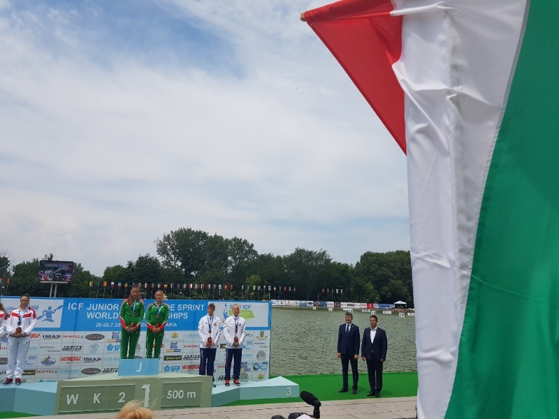 Hungary dominated the final day of action at the ICF Under-23 and Junior Canoe Sprint World Championships, winning five gold medals ©ICF