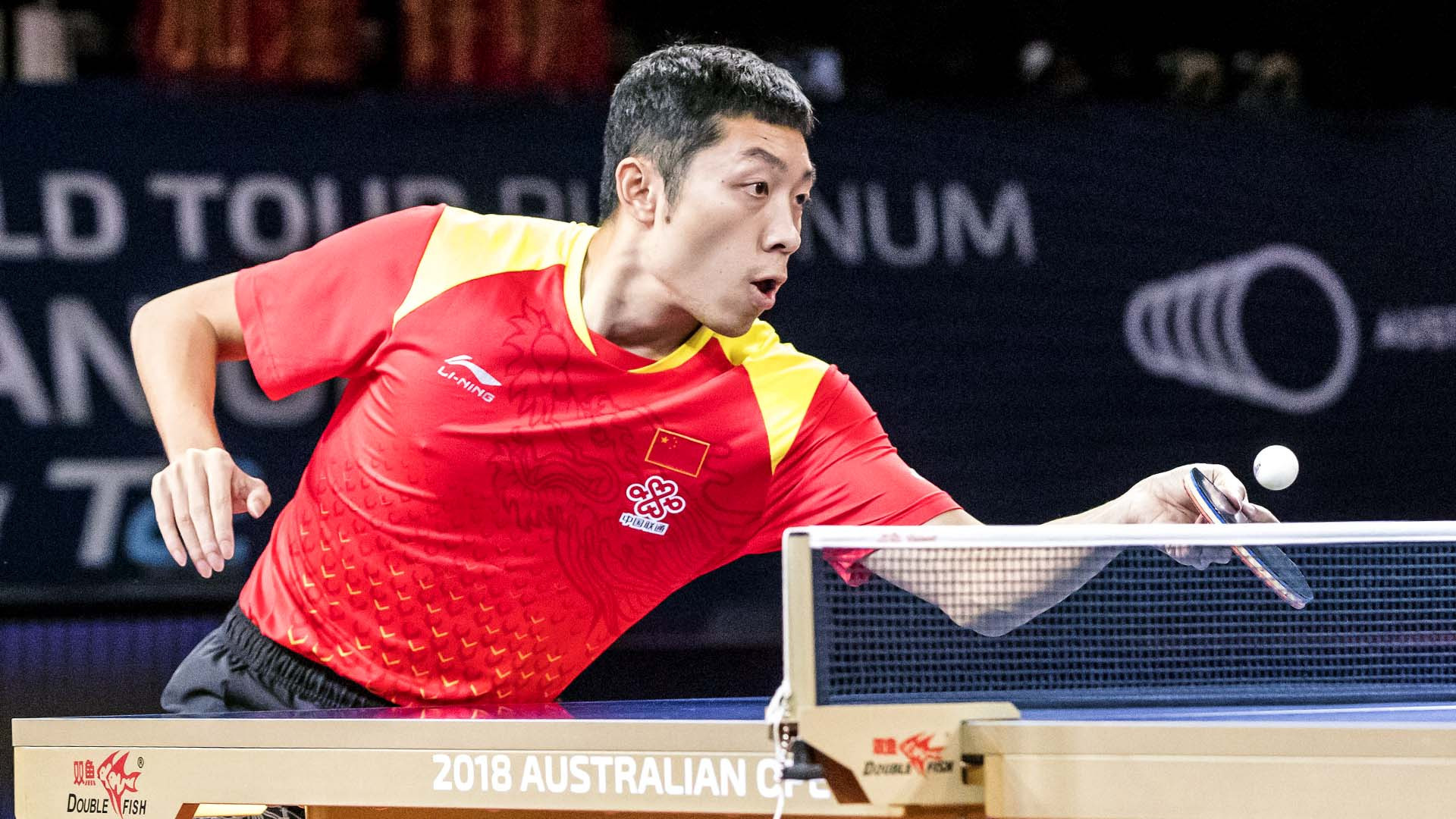 China's Xu Xin earned a morale-boosting victory in the men's final at the ITTF Australian Open in Geelong ©ITTF