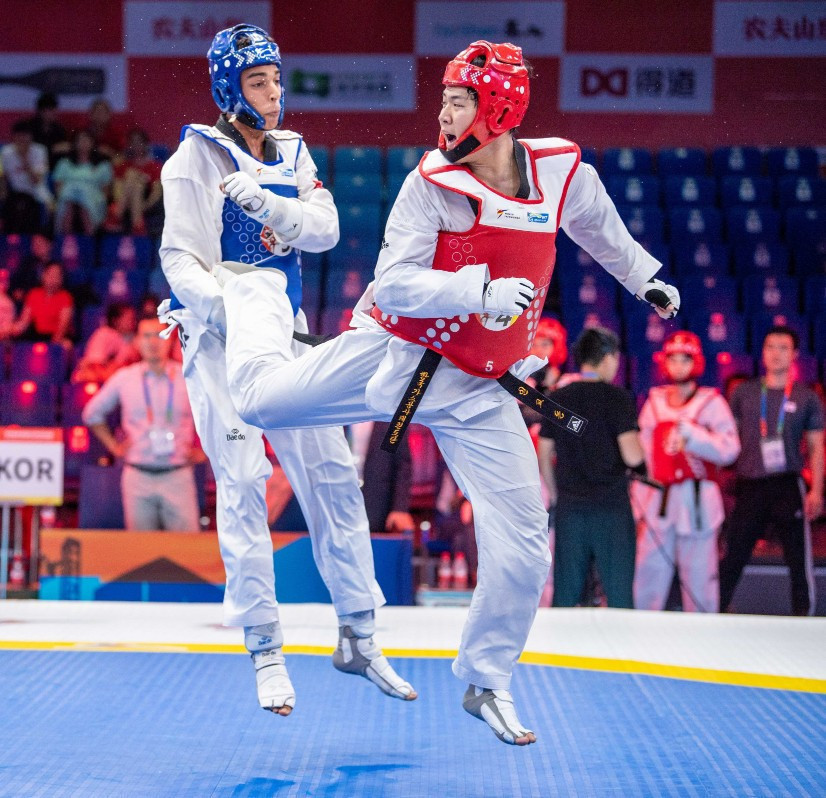 South Korea won the men's title in the World Taekwondo World Cup Team Championships in Wuxi ©World Taekwondo