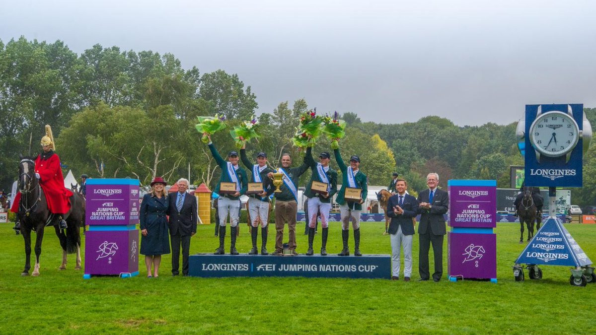 Ireland beat Britain in jump-off to win FEI Jumping Nations Cup event at Hickstead