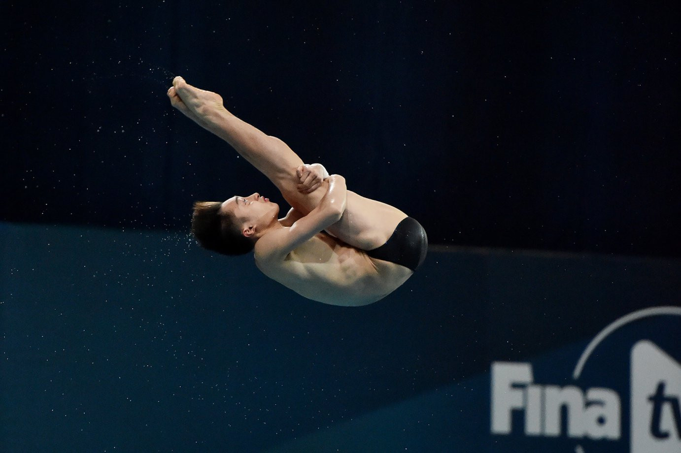 Lian Junjie added a 14th and final gold for China in the boys' A class platform event in the FINA World Junior Diving Championships in Kiev ©FINA