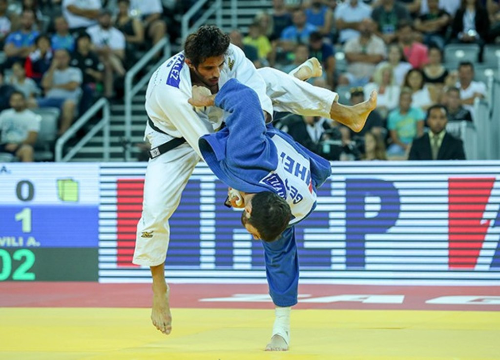 Former under-81kg world champion Tchrikishvili wins first under-90kg gold at IJF Zagreb Grand Prix