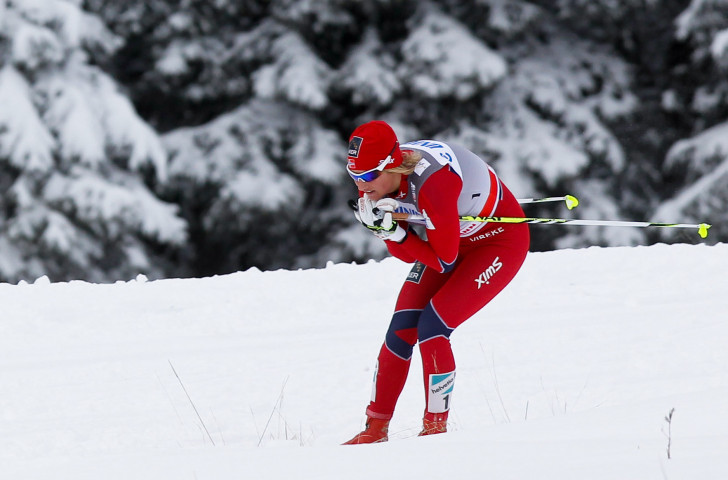Vibeke Skofterud, Vancouver Winter Games 2010 gold medallist in the women's cross country ski relay, pictured during World Cup competition in 2011 ©Getty Images