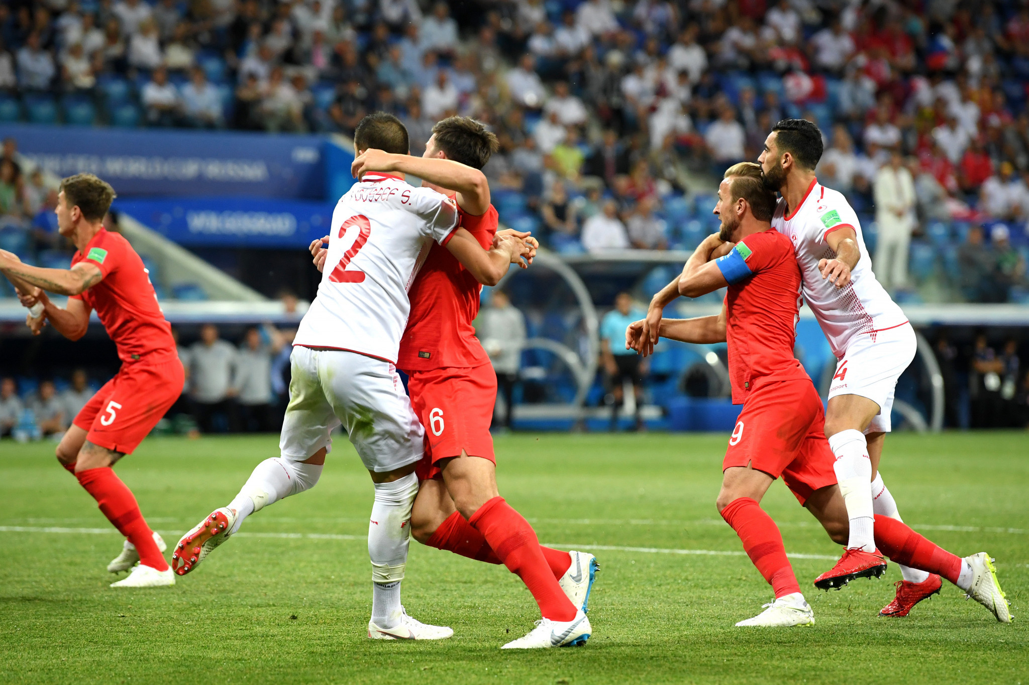 VAR received criticism during the World Cup for frequently failing to spot incidents which were seen by many as clear fouls ©Getty Images