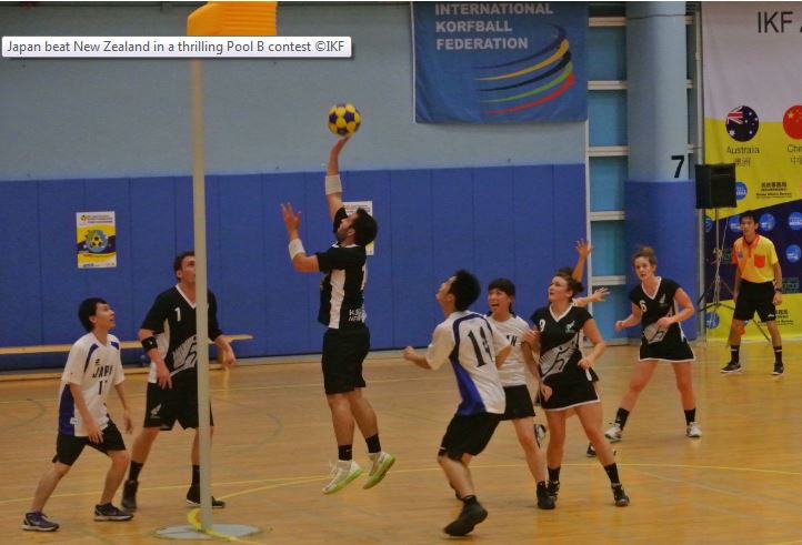After a dramatic 9-10 loss to Japan yesterday, New Zealand were beaten again today by Hong Kong 10-17 ©IKF