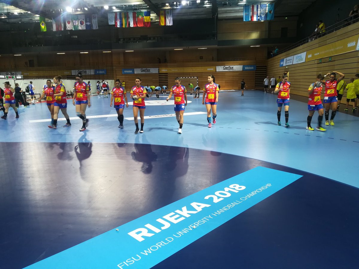 The reigning champions in the women's event Spain, and the defending champions in the men's competition, Romania, have each started the 2018 World University Handball Championships with wins ©Twitter