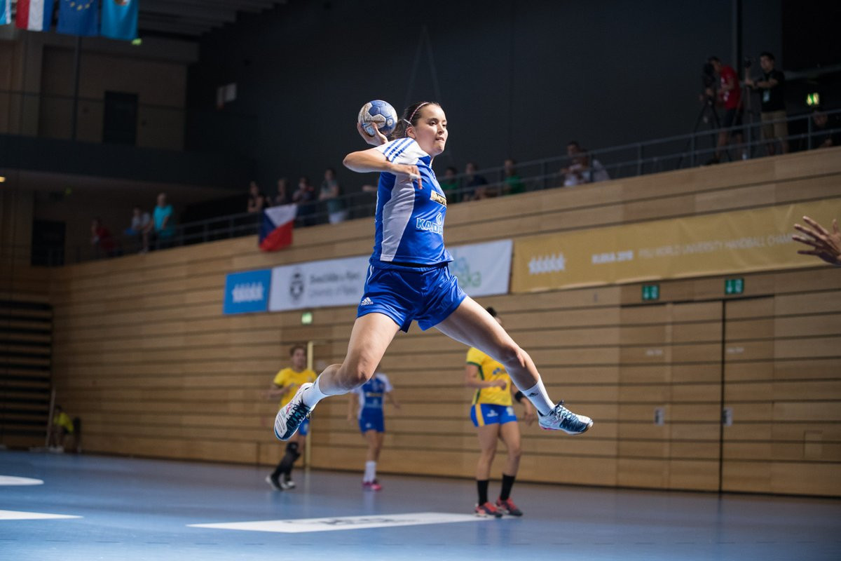 Despite their athleticism, the Czech Republic lost to Brazil today in a thrilling match in the women's competition, 29-28 ©FISU