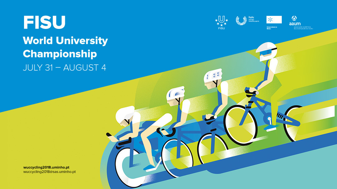 Braga ready for eighth FISU World University Cycling Championships