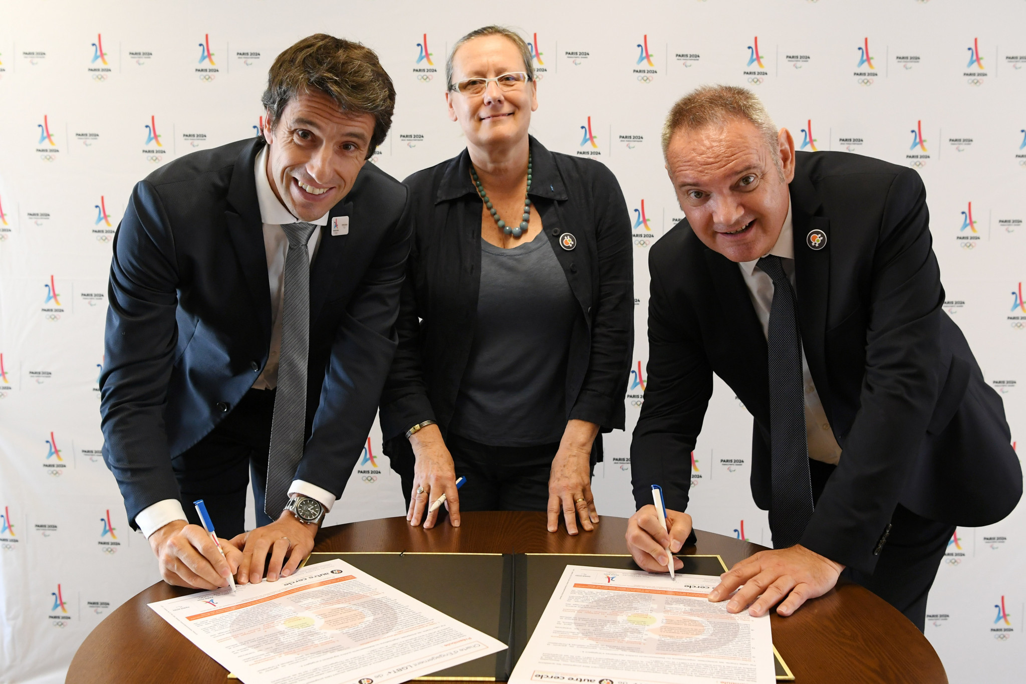 Paris 2024 President Estanguet signs LGBT+ charter
