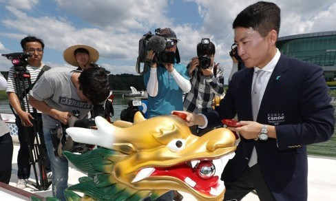 Unified Korean dragon boats to be used at Asian Games named after rivers either side of border