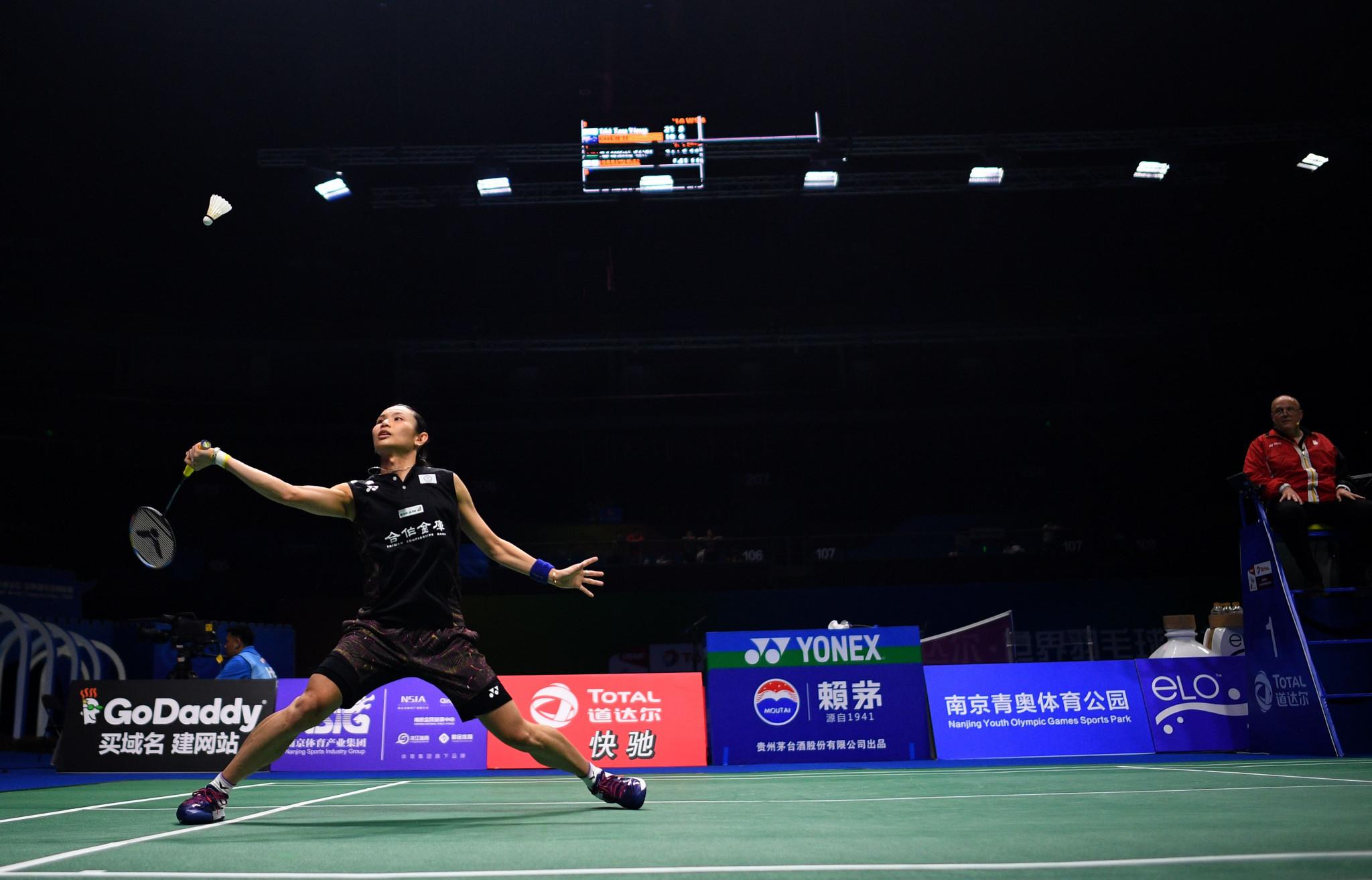 World number one Tai cruises into BWF World Championships third round