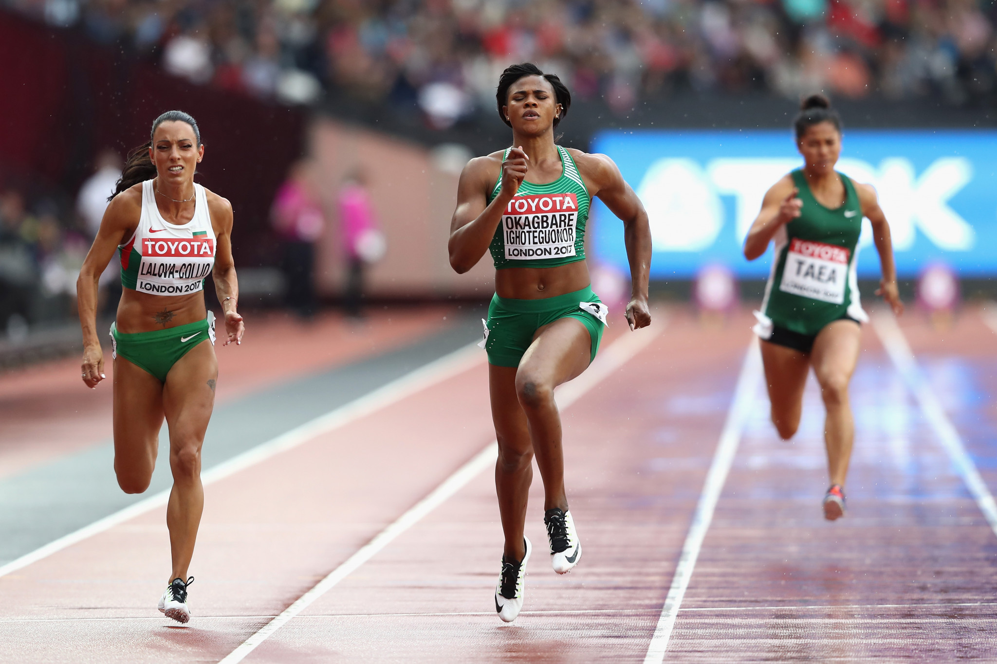 Nigeria will look for inspiration to Blessing Okagbare-Ighoteguonor as they host the African Athletics Championships in Asaba ©Getty Images