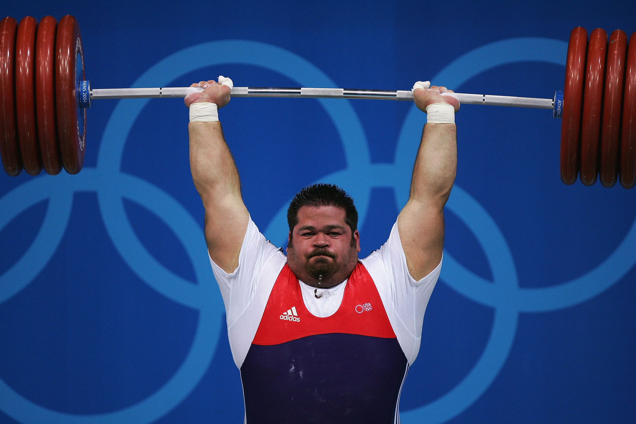 Shane Hamman's over-105kg records have become the new over-109kg records ©Getty Images