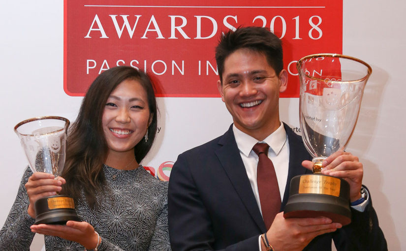 Singapore National Olympic Committee name 2017 Sportsman and Sportswoman of the Year