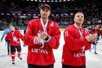 Lithuania's NHL legend Zubrus becomes President of national ice hockey federation