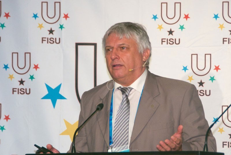 FISU secretary general Eric Saintrond agreed to a proposal earlier this month to house athletes during the Games on a mixture of cruise ships, in temporary housing and existing accommodation  ©FISU
