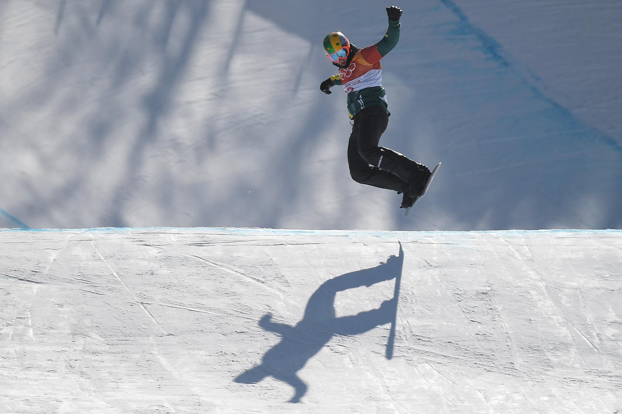 Pyeongchang 2018 silver medallist participates at snowboard cross festival in Australia